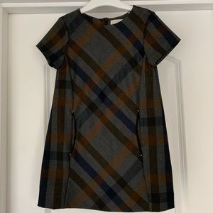 Plaid Zara Girl Dress 4T